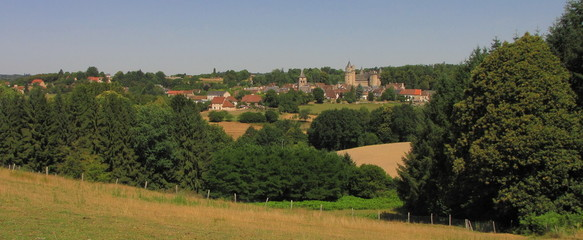 Village de Coussac-Bonneval ; Limousin ; Périgord