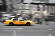 canvas print picture - New York Taxi