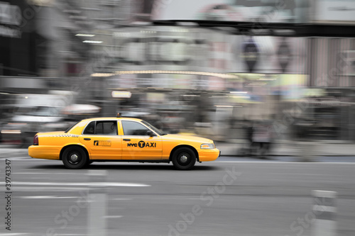 canvas print picture New York Taxi