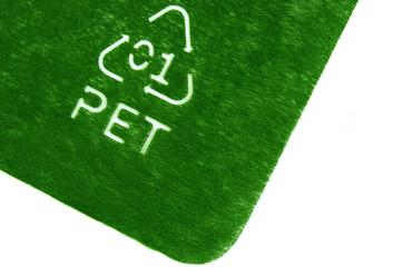 Símbolo de reciclado, PET