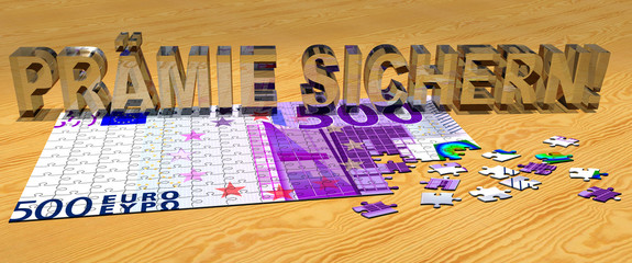 3D Puzzle - PRÄMIE SICHERN