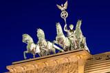 Fototapety The Quadriga on top of the Brandenburger Tor