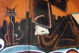 Graffiti de un gato, arte urbano - 39744948