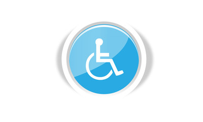 handicapped button