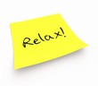Notizzettel - Relax!