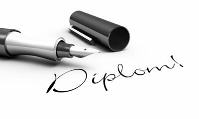 Diplom! - Stift Konzept