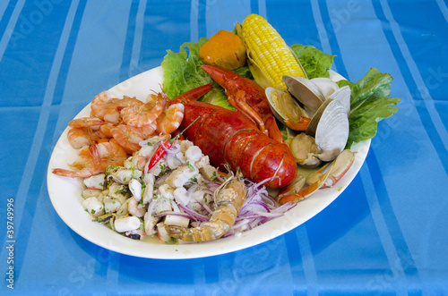 Cebiche and Seafood