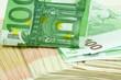 argent, billets, espèces