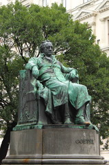 Statue of Goethe in Vienna