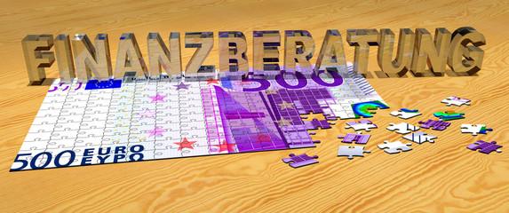 3D Puzzle - FINANZBERATUNG