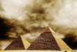 Giza pyramids. Egypt