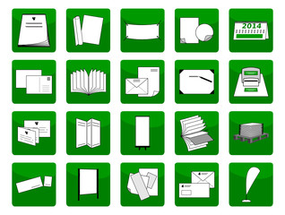 Drucksachen Icons