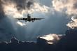 Fototapete Jet - Sturm - Flugzeug