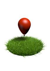 herbe ballon