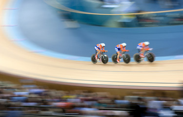 Bicycle racing velodrome