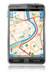Smart Phone with GPS Navigation Application