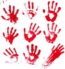 Zakrwawione ręce