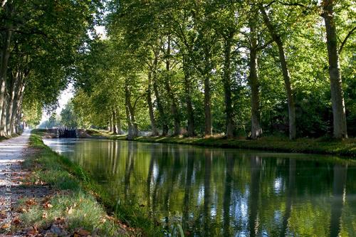 Papiers peints Canal Canal du Midi