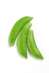 Sugar snap pea pods