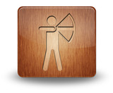 "Wooden Icon ""Archery"""