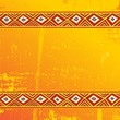 Africa Design Sfondo-Tribal Ethnic Background-Vector