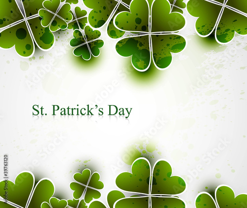 beautiful saint patricks day vector illustration