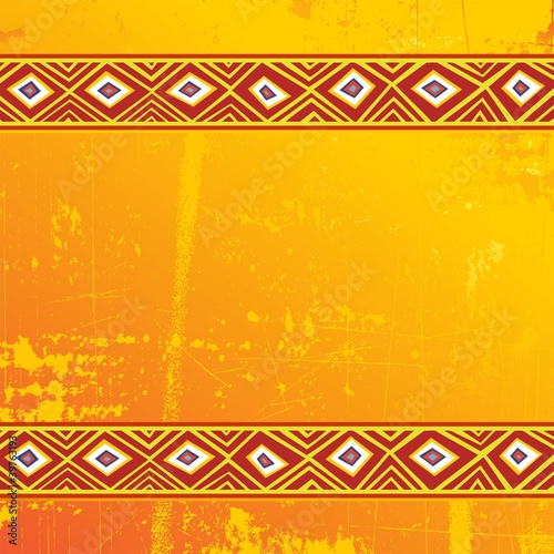 Africa Design Sfondo-Tribal Ethnic Background-Vector