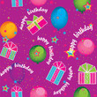 seamless background birthday