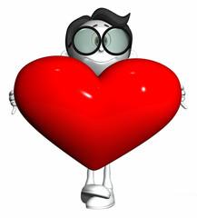 3D People - Love & Heart