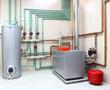 Leinwandbild Motiv boiler room