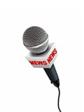 news microphones