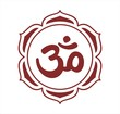 Aum syllable, lotus, Hinduism, India