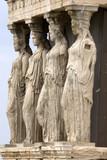 Caryatid, Athens poster