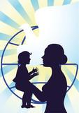Happy Motherhood and Childhood poster