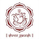 Ganesha , lotus flower , Hinduism, India