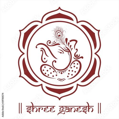 Ganesha Lotus Flower Hinduism India Buy Photos Ap Images