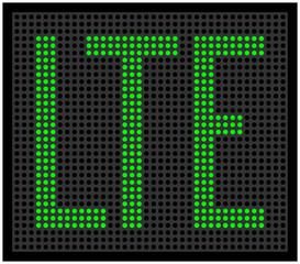 LTE Punkte grün