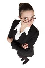 Mujer ejecutiva con gafas