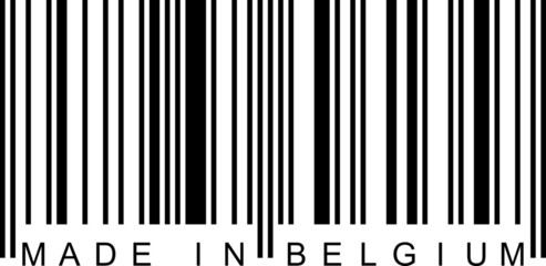 Barcode - Made in Belgium