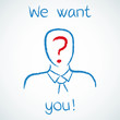 Sketch, We want you! 1