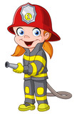 Fototapety Firegirl
