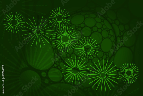 green cyber cogs