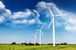 Leinwanddruck Bild - Windenergie