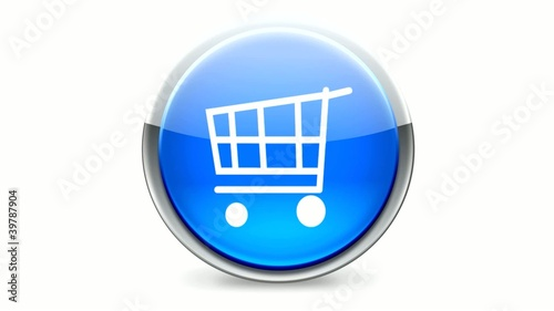Shopping cart - Round button