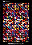 Fototapety modern mosaic pattern background