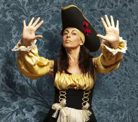 pirate woman