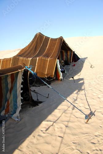 Staande foto Tunesië tente touareg sahara tunisie 5