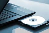 Fototapety Laptop optical drive
