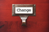Lustrous Wooden Cabinet with Change File Label poster