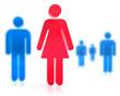 Frau Mann Icons
